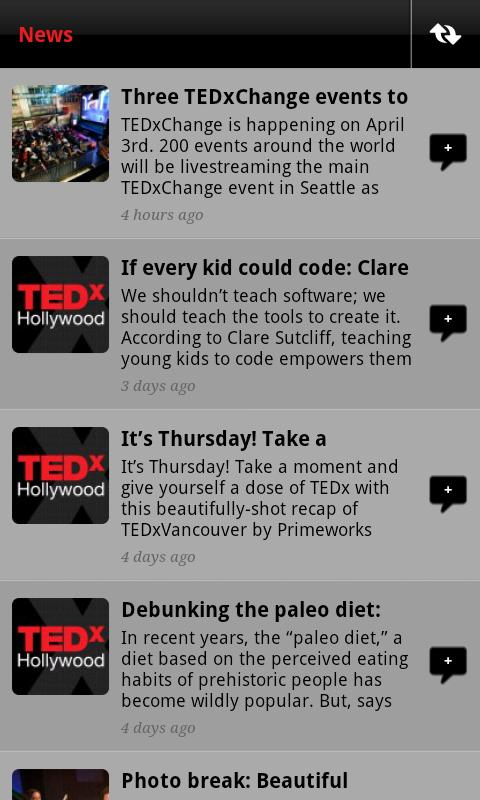 TEDxHollywood - screenshot