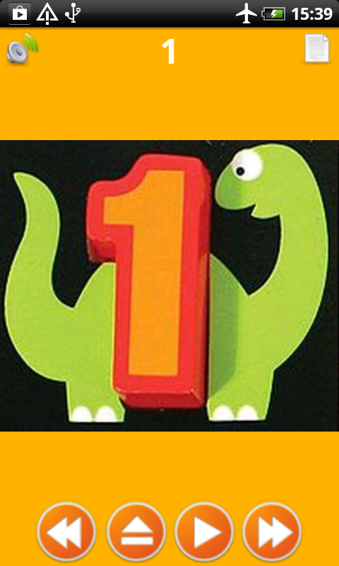 Letters Numbers Colors Shapes - screenshot
