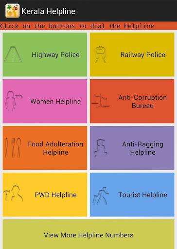 Kerala Helpline