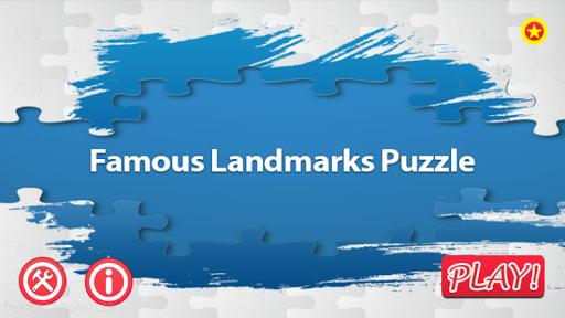 Famous Landmarks Puzzle