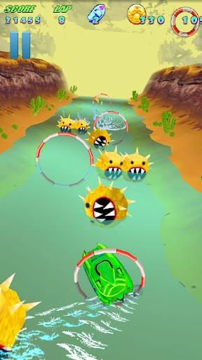 Turbo River Racing Pd v1.00 Apk Game Download