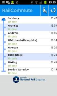 Rail Commute - Live UK Trains- screenshot thumbnail