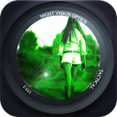 Night Vision Spy Camera Effect