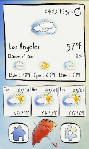 Sketched Weather - Widget