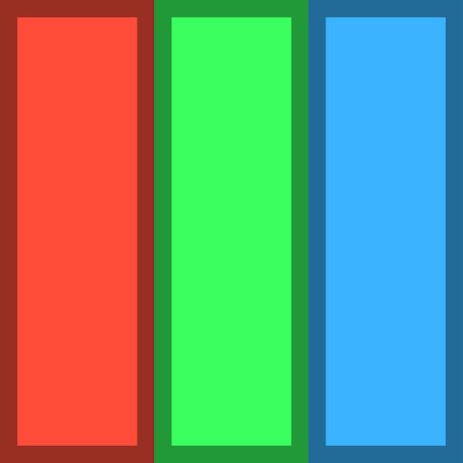 红绿蓝!跳 -3D 賽車遊戲 App LOGO-APP試玩