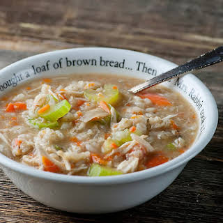 Slow Cooker Chicken Barley Soup.