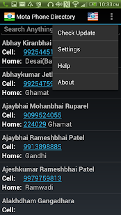 Mota Phone Directory- screenshot thumbnail