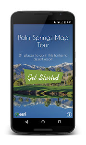 Palm Springs Map Tour screenshot 0