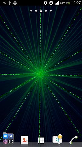Laser Light Live Wallpaper Pro