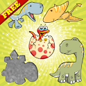 Dinosaurs Puzzles for Toddlers icon