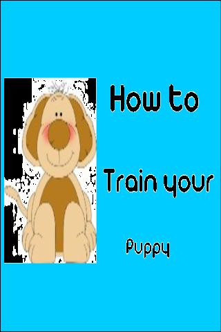 Training your Puppy - screenshot