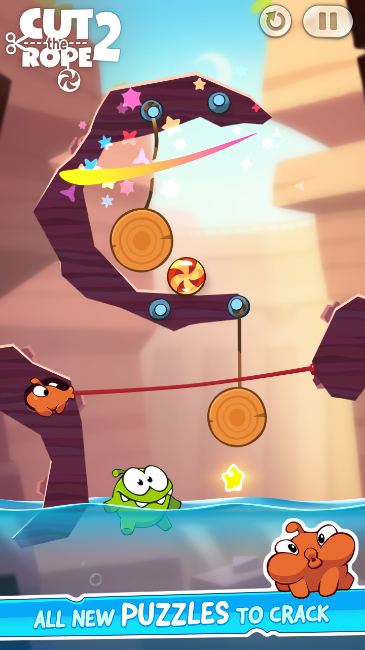 Cut The Rope 2 Mod Apk (Unlimited Money/Energy) 3