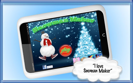 Snowman Maker Fun to Decorate