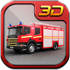Fire Fighter Truck 3d icon