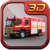 Fire Fighter Truck 3d