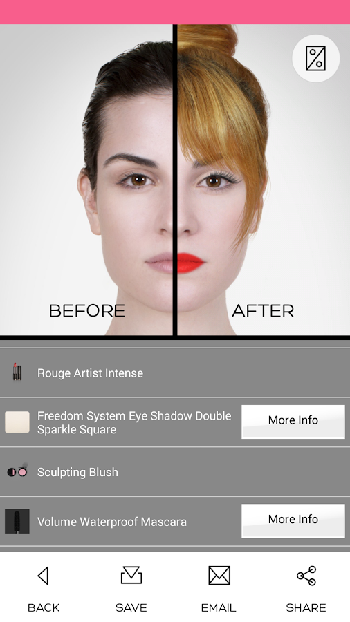 Admirable Virtual Makeover Android Apps On Google Play Short Hairstyles Gunalazisus
