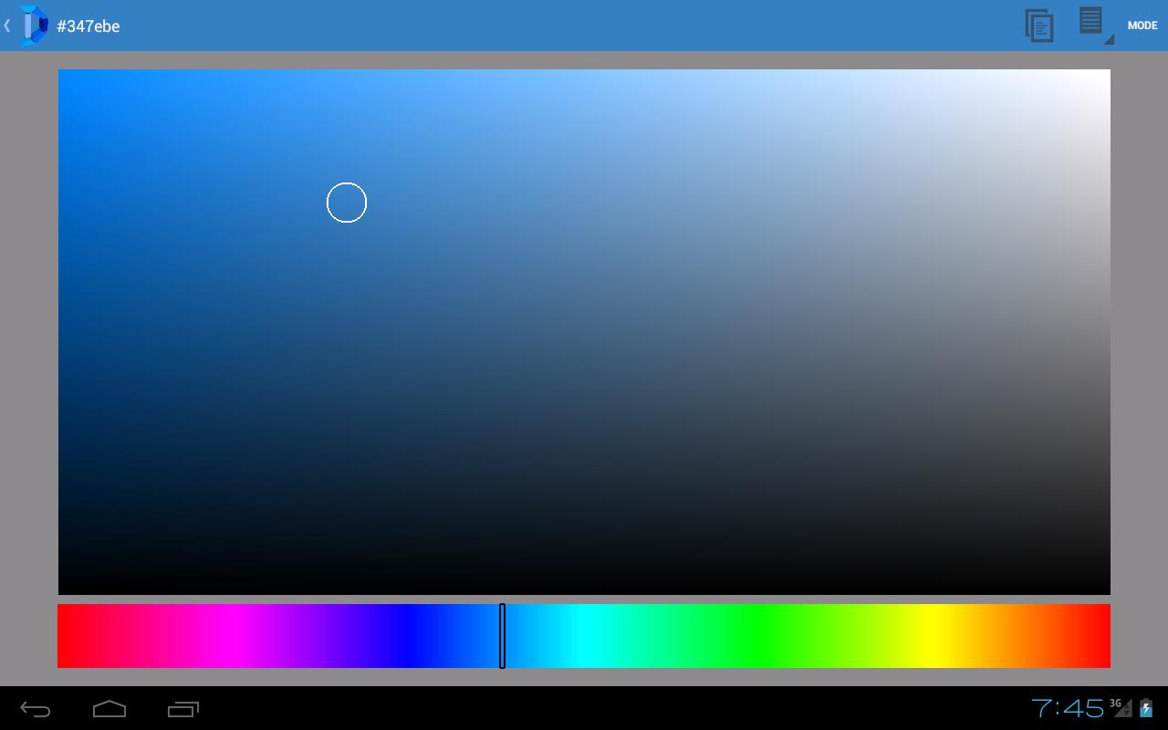 DefCol palette & color picker - screenshot