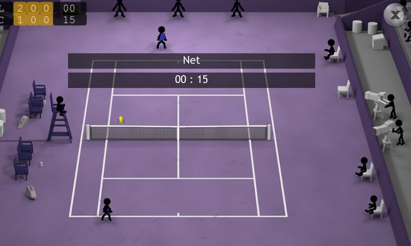 Stickman Tennis screenshot #3