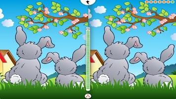 Screenshot of Easter App Find the Difference