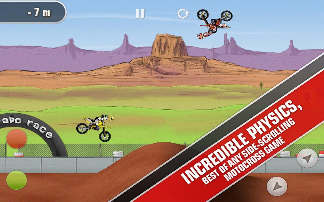 Mad Skills Motocross screenshot #2