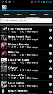 Rock unter Linden 2013 - screenshot thumbnail