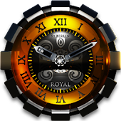 Royal designer Clock Widget