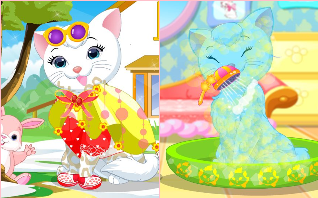 Kitty Princess Hair Salon Apl Android Di Google Play