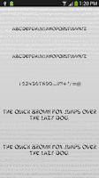Screenshot of Fonts Tattoo for FlipFont Free