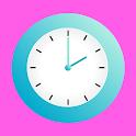 Cute Clock Live Wallpaper icon