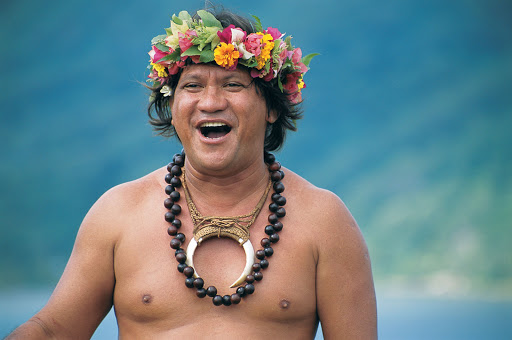 Tahiti_man - A resident of Tahiti: Enjoy close cultural encounters aboard the Paul Gauguin.