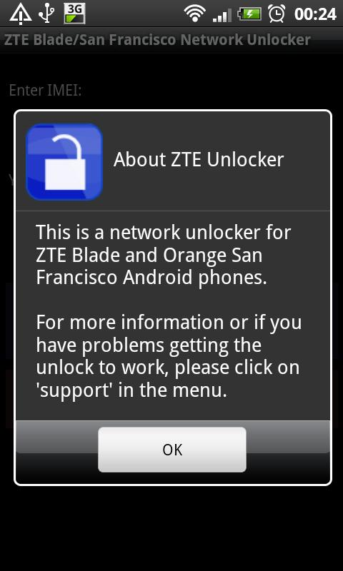 DroidGram Network Unlock Pro- screenshot