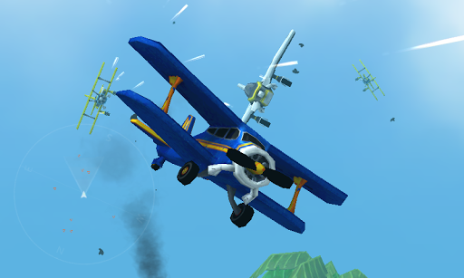 Dogfight War Airplane Games
