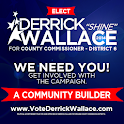 Derrick Wallace for District 6 icon