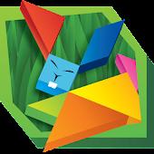Tangram Puzzles: Wild Animals
