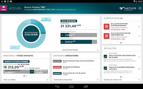 Mon Epargne Salariale- screenshot thumbnail