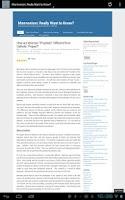 Screenshot of LDS Blogs