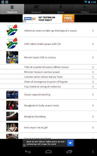 【免費新聞App】South Africa News-APP點子