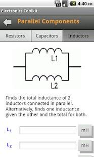Electronics Toolkit- screenshot thumbnail
