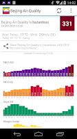 Screenshot of Asia Air Quality 亚洲空气质量