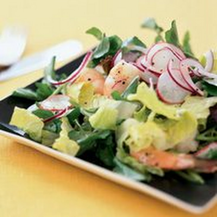 Shrimp Salad with Lemon Mayonnaise