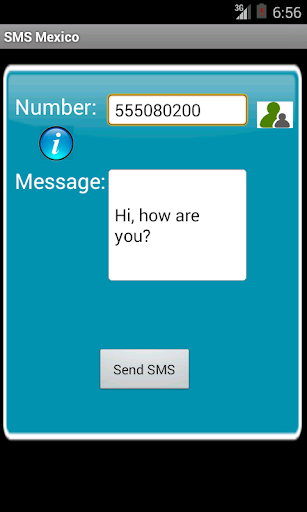 Free SMS Mexico