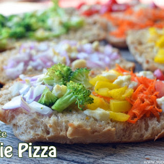 10 Minute Veggie Pizza