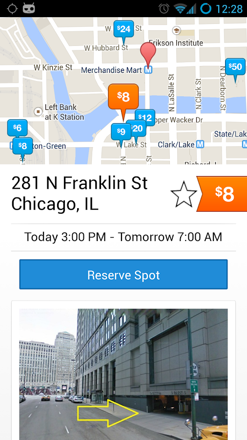 SpotHero–The Best Parking App - screenshot