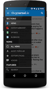 TheJournal.ie News - screenshot thumbnail