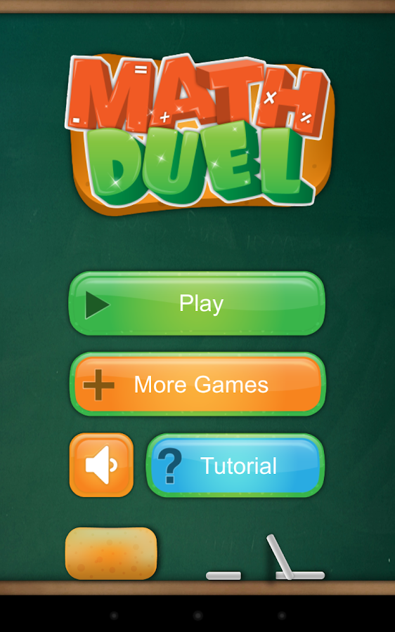 Math Duel: 2 Player Math Game - screenshot