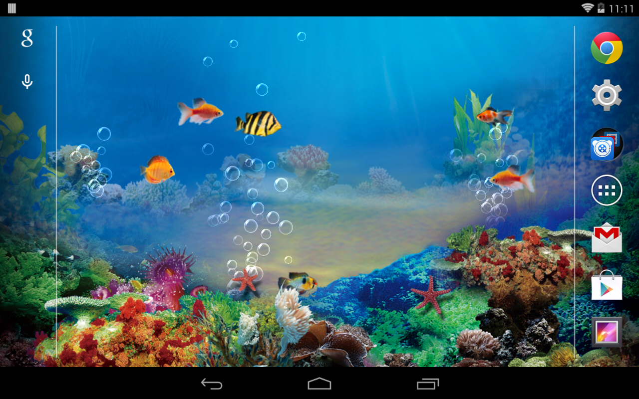 Fish aquarium live wallpaper - Aquarium Live Wallpaper Free Screenshot