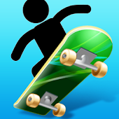Monster Hill Skateboard Rider