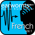 Earworms Rapid French Vol.1 logo