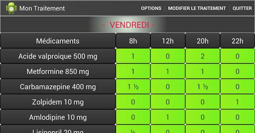 玩免費醫療APP|下載Mon Traitement Médical - Lite app不用錢|硬是要APP