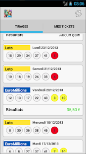 Resultat Pour Euromillion Loto Applications Android Sur